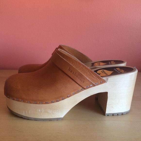 08cfd275e0044 Swedish Gasbeens Mule Clog Tan leather Size 8. M_5b3b8080534ef91396c23409